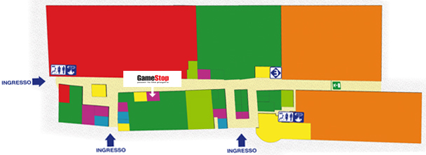 game stop mappa